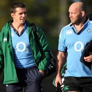 Ireland Rugby Squad Training